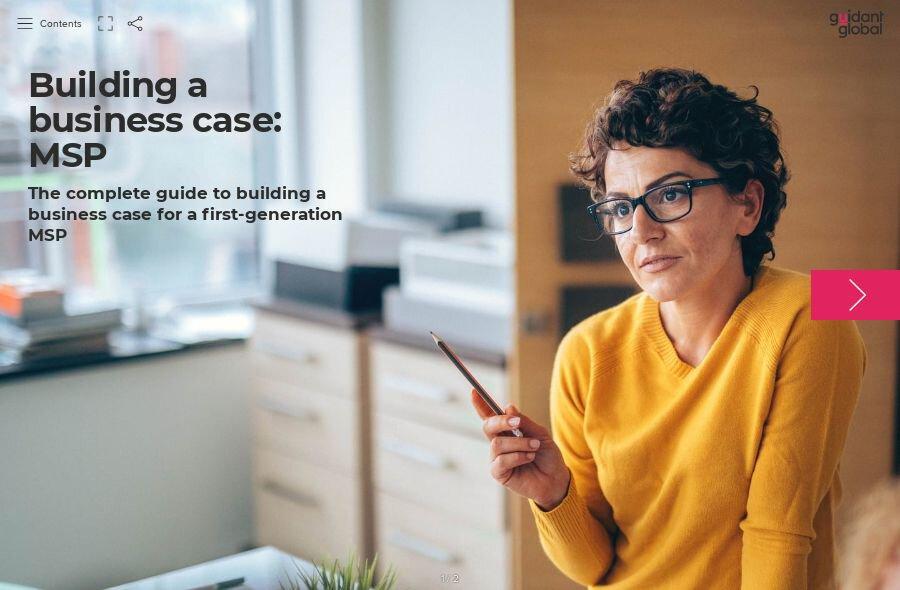 Building a business case: MSP
