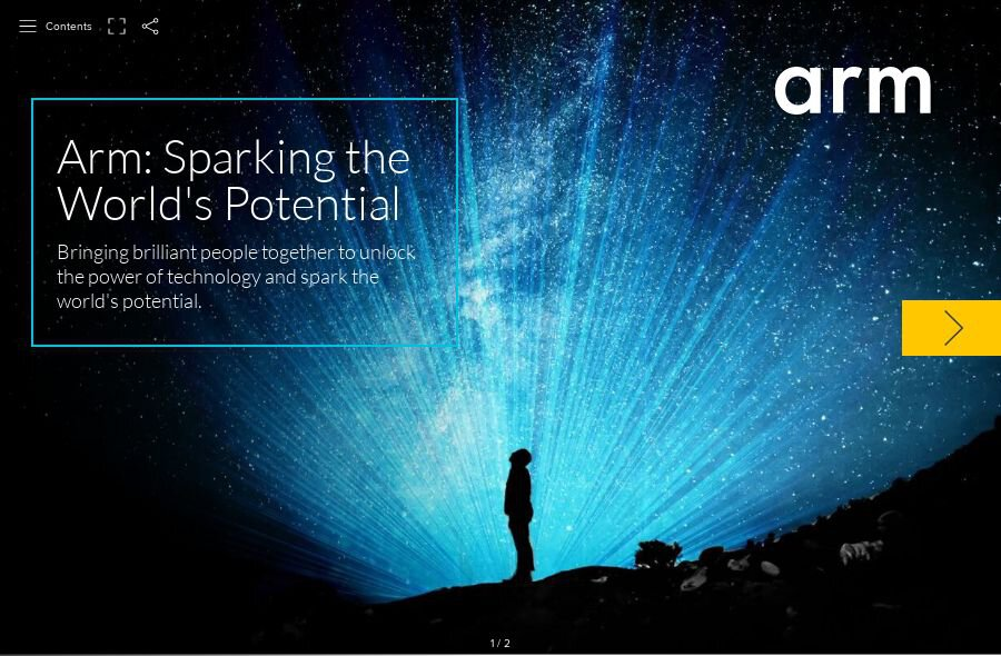 Arm: Sparking the World's Potential