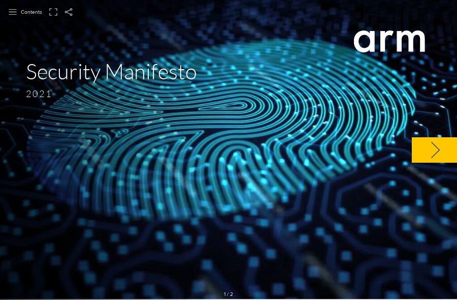 Arm Security Manifesto 2021